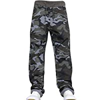 New Boys Kids Camo Designer Pull-On Elasticated Waist Jogger Camoflauge Jeans Pants by JEANBASE
