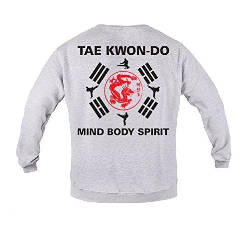 Rule Out Crewneck Sweatshirt.Taekwondo Mind Body Spirit. Gym. Training. Martial Arts.Fightwear. MMA Hoodie