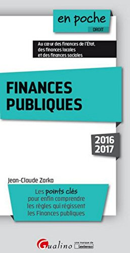 Finances publiques 2016-2017, 3ème Ed.