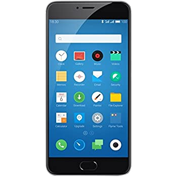 "Meizu M3 note - Smartphone libre Android (pantalla 5.5"", Octa-core, 2GB RAM, 16GB, cámara 13 Mp), color gris"