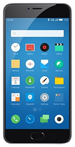 "Meizu M3 Note Dual SIM 4G 16GB Black,Grey - Smartphones (14 cm (5.5""), 16 GB, 13 MP, Android, 5.1, Black, Grey)"
