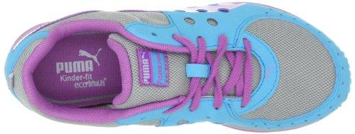 Puma  FAAS 300 JR, chaussures de sport - course à pied mixte enfant Gris - Grau (gray violet-hyacinth 07)