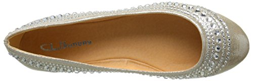 CL By Laundry Hillary Femmes Synthétique Chaussure Plate Champagne