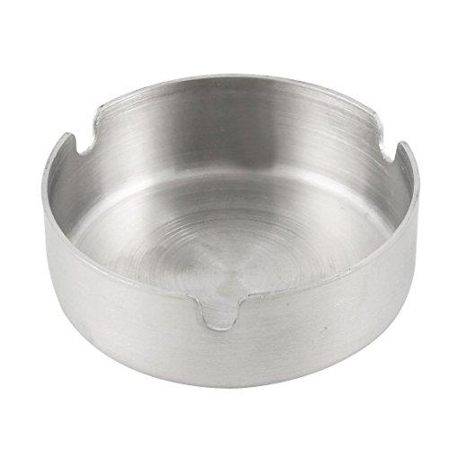 toogoor-acier-inoxydable-ronde-cendrier-de-cigarette-8cm-dia-ton-argent