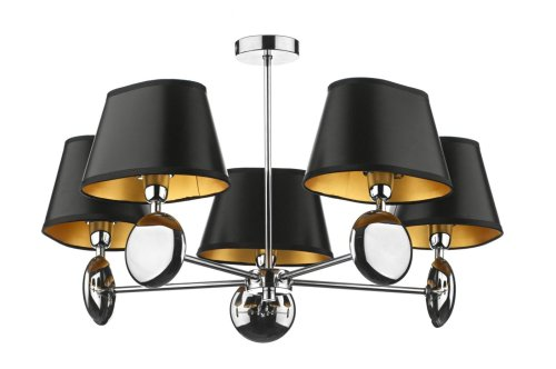 dar-lex0550-lexington-5-lamp-pendant-ceiling-light-dual-mount-shade-sold-separately