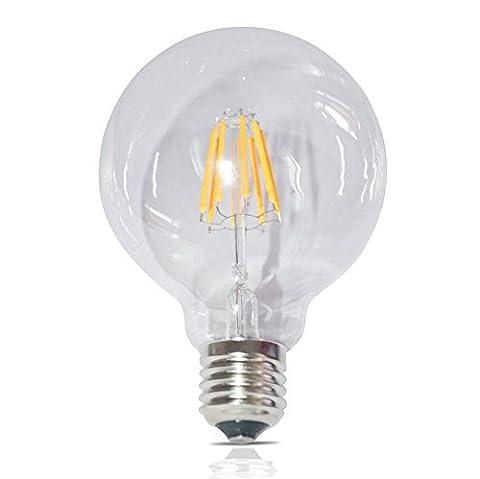 Haus Beleuchtung Edison Retro-Stil dimmbare LED Birne G95 E27 8 W 650 LM 2700K LED Warm White AC 220-240V Energie Klasse A++
