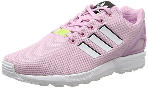 the latest 4d9c2 adf6c adidas Unisex Kids  Zx Flux Low-Top Sneakers, Pink (Frost Pink
