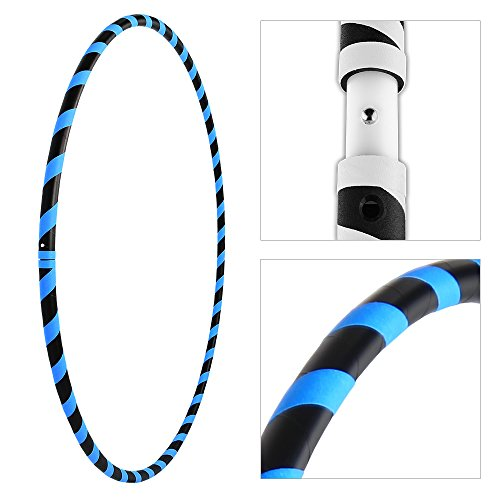 JEWADO Neon Hoop l, Gymnastik Hula Hoop Reifen in Neon Farben - 90/95/100cm
