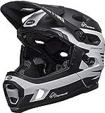BELL Super DH MIPS Fahrrad Helm schwarz/weiß 2019: Größe: M (55-59cm)