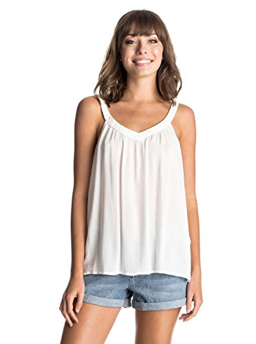 Roxy - Top Double Dutch Cami, Donna, Top Double Dutch Cami, Gelato alla vaniglia, S