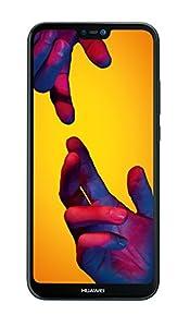 HUAWEI P20 lite Smartphone BUNDLE (14.83 cm (5.84 Zoll), 64GB interner Speicher, 4GB RAM, 16 MP Plus 2 MP Kamera, Android 8.0, EMUI 8.0) Schwarz + gratis Intenso 16 GB Speicherkarte [Exklusiv bei Amazon] - Deutsche Version