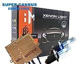 Wattstar H7 Xenon Kit Canbus HID Senza Errori Decodifica Ballast 55W Lampadina del Faro 6000K