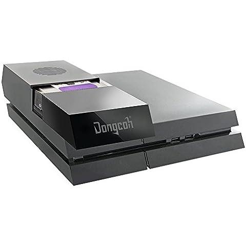 DongCoh Game Bar con 2 TB de 3,5 pulgadas disco duro de PlayStation 4 Negro