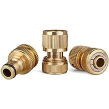 Glorden Brass Hose Quick Connector Set