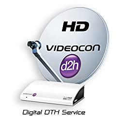Videocon d2h HD Set Top Box with 12 Months Platinum & 12 months Premimum Access Free