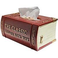 Tissue Storage Box Bandeja de pañuelos Caja de pañuelos Sala de Estar Caja de Almacenamiento de Toallas de Papel Hotel Restaurante baño decoración Industria, Empresas y Ciencia/Suministros de LIM