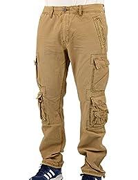 Jet Lag Herren Cargo Hose mit Seitentaschen 008 sand - fällt normal aus
