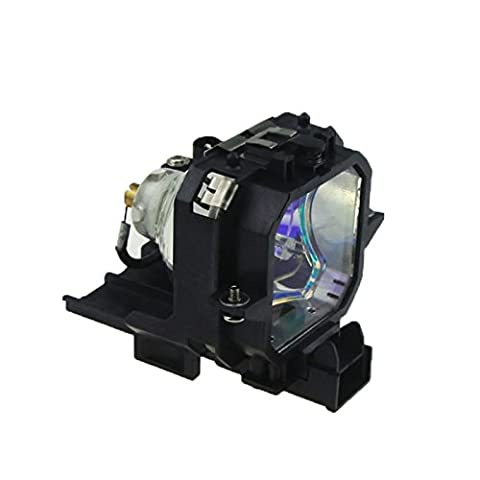 XIM Lamps E27 Series Lamp With Housing Fits EMP-54 / EMP-54C / EMP-74 / EMP-74C / V11H136020 / V11H137020 / PowerLite 54c / PowerLite 74c / EMP-74L / EMP-75