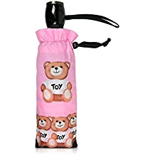 Moschino Mujer 8255BEARS Rosa Poliéster Paraguas