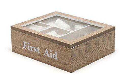 B!Organised, Aufbewahrung und Boxen, Erste Hilfe Box, 1 Stück, Eiche, 1172976