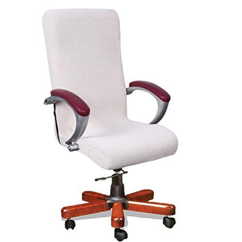 XZ Stuhlhussen Stuhlbezug Stretch Elastische Bürostühle Stuhl Schonbezug Universal Elastisch Sessel Drehen Essen Stuhl Fit Sitzschutz,3,S (Sicher Fit Sessel Schonbezug)