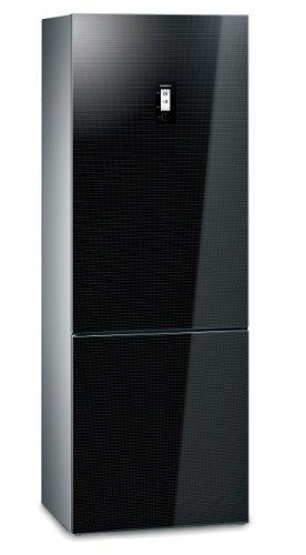 Siemens KG49NSB31 iQ700 Kühl-Gefrier-Kombination / A++ / Kühlen: 317 L / Gefrieren: 123 L / Schwarz / NoFrost / Eis- und Reifbildung / LED-Beleuchtung