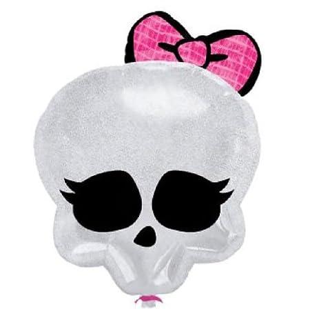 Monster High XL Ballon 46cm Skull Logo