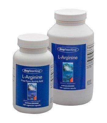 500 Mg Vegetarische Caps (Allergy Research Group - L-Arginine 500 mg 250 caps by Allergy Research Group)
