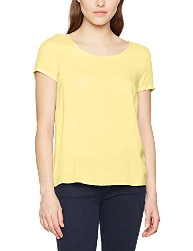 ONLY Damen T-Shirt Onlfirst SS Top Noos Wvn, Gelb (Pale Banana Pale Banana), 40 (Frauen Bananas T-shirt)