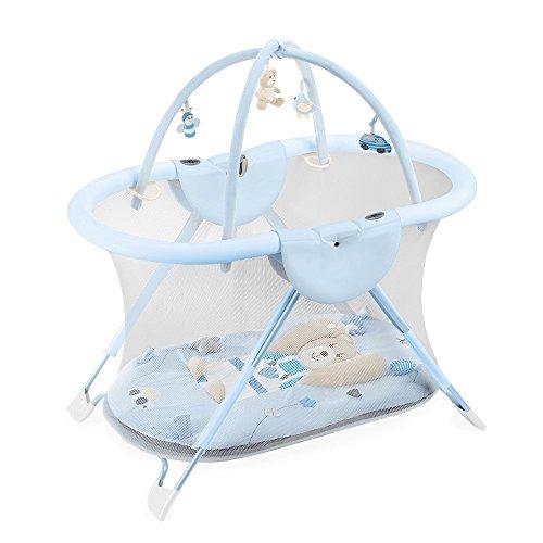Preisvergleich Produktbild Laufstall mit Spielzeug Baby Neugeborene Palio Playtime N 206blau.