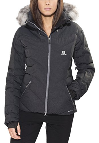 Salomon Icetown Jacket W black Schwarz