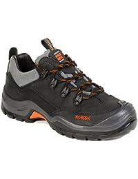 Norisk - Chaussures De Protection Homme Noir En Cuir 43 expédition rapide UaJj0