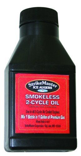 strike-master-32-fluid-ounce-bottle-of-ice-augers-smokeless-2-cycle-oil-by-strike-master