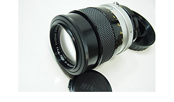 Nikon Nikkor Q Auto 135 Mm F2 8 Non Ai Objektiv Kamera