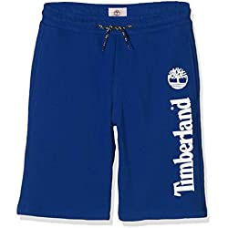 Timberland Boy's Bermuda Swim Shorts, Blue (Amiral 841)14 Years (Taille fabricant:14A)