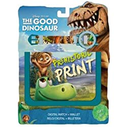 Kids Euroswan - Disney WD16825 Set wallet + Digital Clock The Good Dinosaur