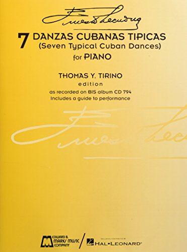 7 Danzas Cubanas Tipicas: (Seven Typical Cuban Dances)