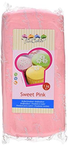FunCakes Fondant, sweet pink, 1er Pack (1 x 1 kg)