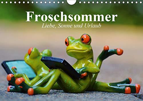 Froschsommer. Liebe, Sonne und Urlaub (Wandkalender 2020 DIN A4 quer) -