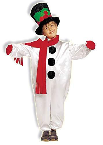 Kostüm Schneeball - Chiber Disfraces Kinder Unisex Schneemann Kostüm (4-6 Jahre)