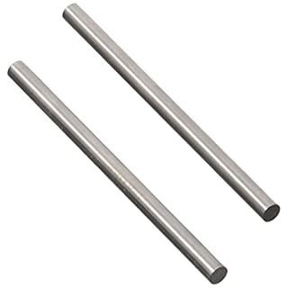 RC Car Toy 100mm x 6mm Stainless Steel Round Rod 2PCS