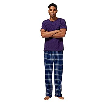 Debenhams mantaray big and tall purple checked print for Big and tall purple dress shirts