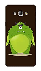 Marklif Premium Printed Cool Case Mobile Cover for Samsung Galaxy A8