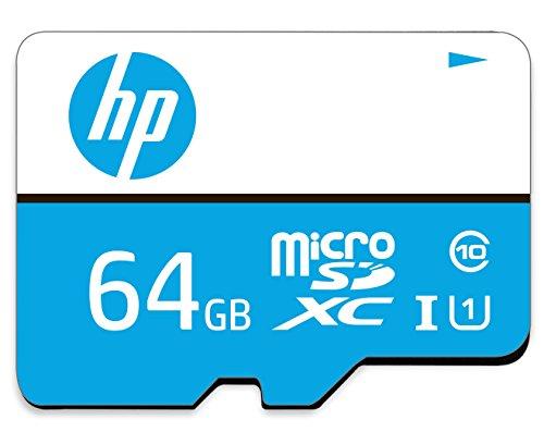 HP 64GB Class 10 MicroSD TF Memory Card (Black)