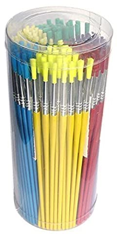 Major Brush Boîte de 144 couleurs assorties-Pinceau à peinture Idéal pour l'école