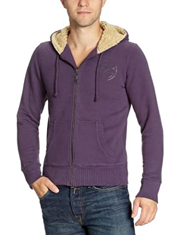 Converse Herren Jacket CT Patch Fur, greyish lilac, S