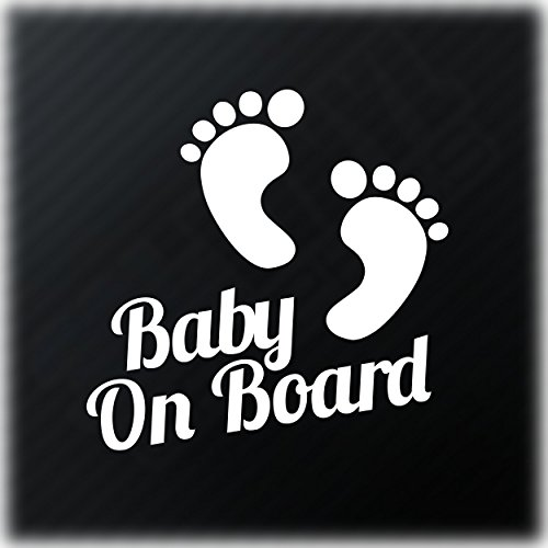 Baby-On-Board-Aufkleber-Funny-Car-Fenster-Bumper-Kids-Kind-Fun-ACHTUNG-Vinyl-Autoaufkleber