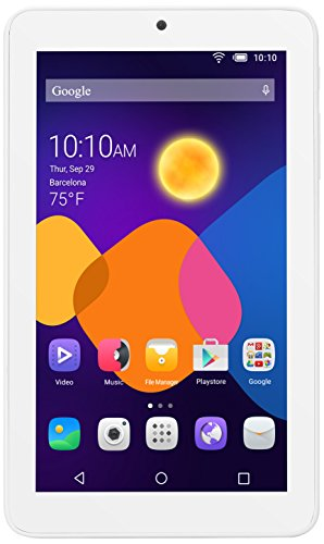 Alcatel One Touch 8055 4GB White – Tablet (Minitableta, IEEE 802.11n, Android, Pizarra, Android, Color blanco)