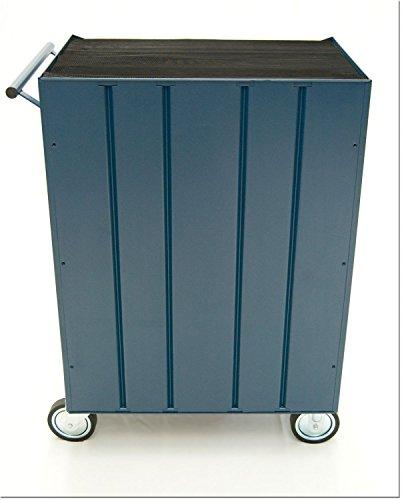 Werkstattwagen, 7 Schubladen, blau - 3