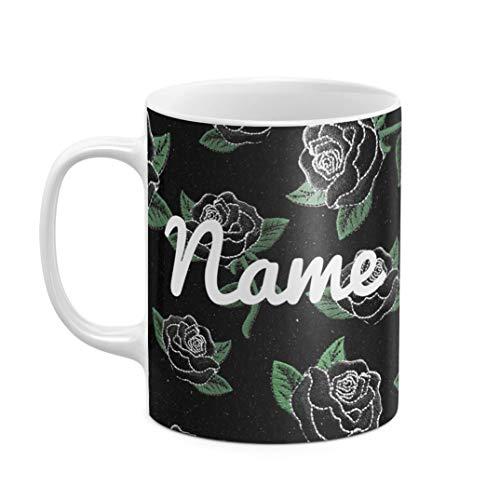 Personalisiert Tasse, Initialen von Vor- und Nachname, Custom Name Text Or Create Your Own...